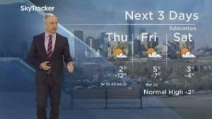 Edmonton weather forecast: Feb. 20