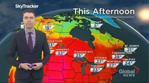 Saskatchewan weather outlook: June 16