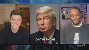 Baldwin returns as Trump on SNL touting U.S. 'number 1' for COVID-19 cases (06:31)