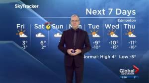 Global Edmonton Halloween weather forecast: Oct. 31