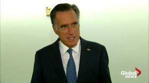 Mitt Romney says he supports Senate vote on Trump's Supreme Court nominee