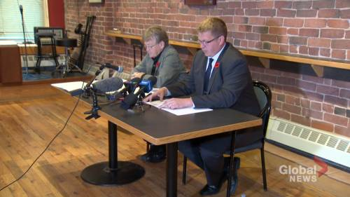 Saint John Police Association filed complaint against city councillor for criticizing earnings of first responders | Watch News Videos Online - Globalnews.ca