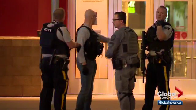 Suspect at large after reported shooting at shopping mall north of Calgary