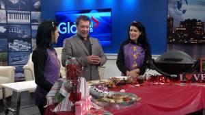 Canadian celeb grilling team Maddie and Kiki visit GNM