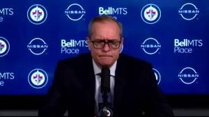 RAW: Winnipeg Jets Paul Maurice Interview – Mar. 31 (04:21)