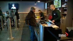Saskatchewan cannabis businesses seeing increased demand during coronavirus pandemic (01:25)