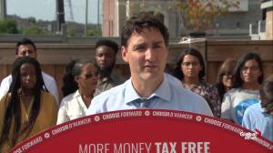 Federal Election 2019: Trudeau says becoming MP for Papineau helped him understand reality of racism