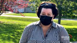 New Brunswick COVID-19 survivor calls for two week province-wide lockdown to slow the spread of the virus (02:02)