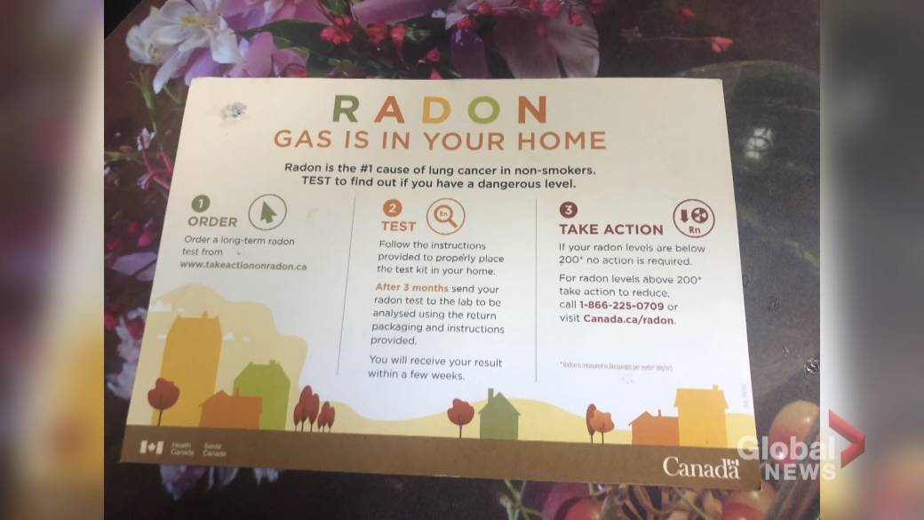 Click to play video 'Radon testing kits handed out in N.B.'