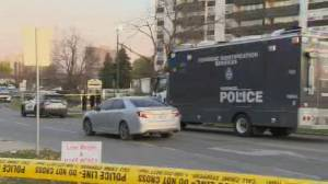 Jane and Finch community calls for end to gun violence after 'brazen' daylight shooting (02:09)