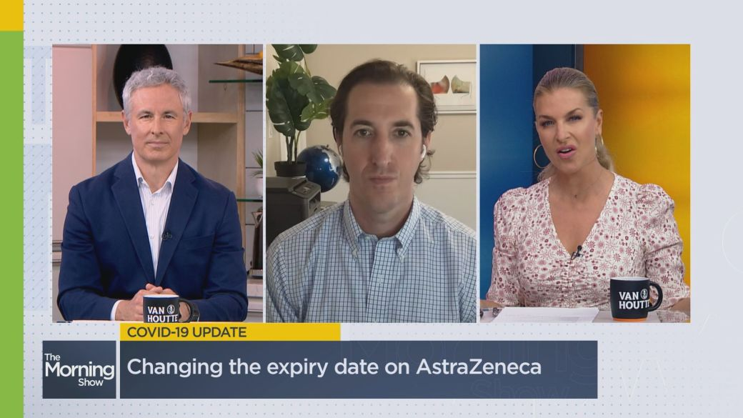 Click to play video: 'Why did health officials change the expiry date of AstraZeneca vaccines?'