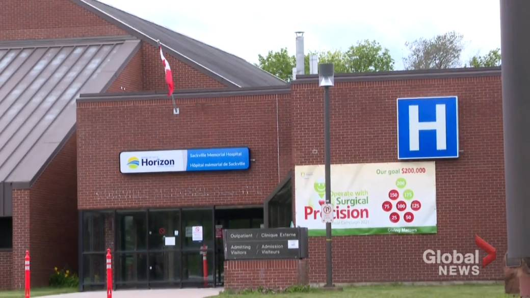 Click to play video: 'People concerned over closure of ER in Sackville'
