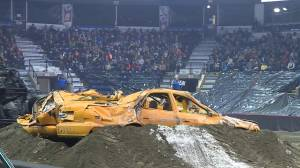 Monster Truck Chaos rules weekend in Kelowna