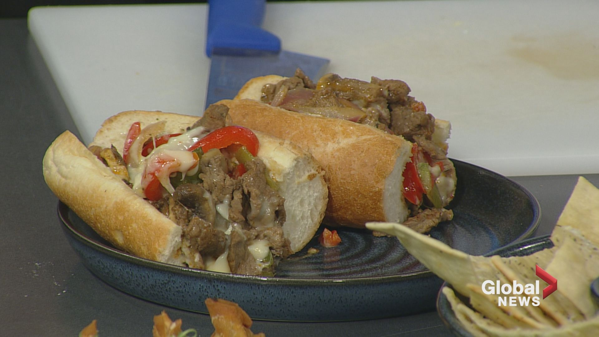 Twin Otter cooks up Philly Cheesesteaks