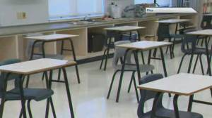 Some relief as N.B. delays full-time high school classroom return (02:02)