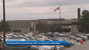 COVID-19: Peel and Toronto cracking down on workplace outbreaks (02:02)