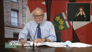 Ontario health officials defend decision not to enter Step 3 of reopening (04:58)