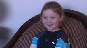 Athlete of the Month: Lethbridge girl, 6, bikes nearly 2,000 kms