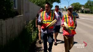 Smudge walk held to honour slain Saskatoon teenager