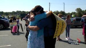 Families reunite with loved ones as HMCS Fredericton returns