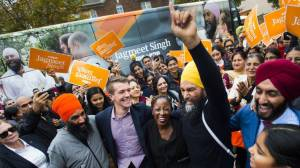 NDP hopes 'Singh Surge' will steal away seats from Liberals, Greens