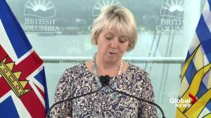 B.C. reports 378 new COVID-19 cases, seven deaths (04:16)