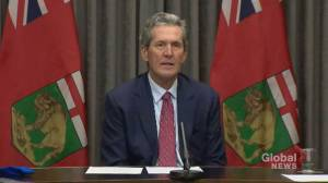 Pallister says he has 'tremendous amount of respect for Friesen after shuffling him out as health minister (01:01)