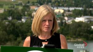 Notley calls recent reports of discussions between AER and industry 'very troubling' (01:52)