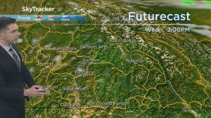 Kelowna Weather Forecast: May 25
