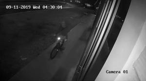 Police release video of suspect in Kitchener break-ins