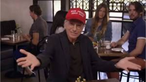 Trump seemingly misses punchline after tweeting 'Curb Your Enthusiasm' clip