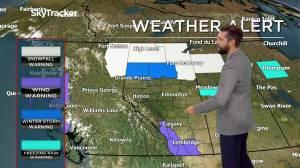 Edmonton weather forecast: Wednesday, November 4, 2020 (02:57)
