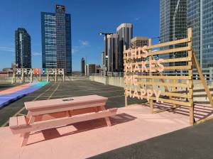 Rooftop of downtown Calgary parkade transformed into new public park