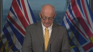 Mike Farnworth announces changes to ICBC will save B.C. drivers money (02:05)