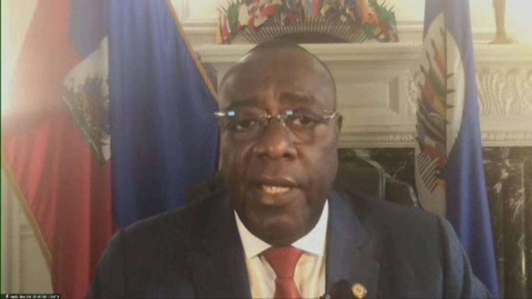 Click to play video: 'Mercenaries responsible for assassination of Haiti's president, country's ambassador to the U.S. says'