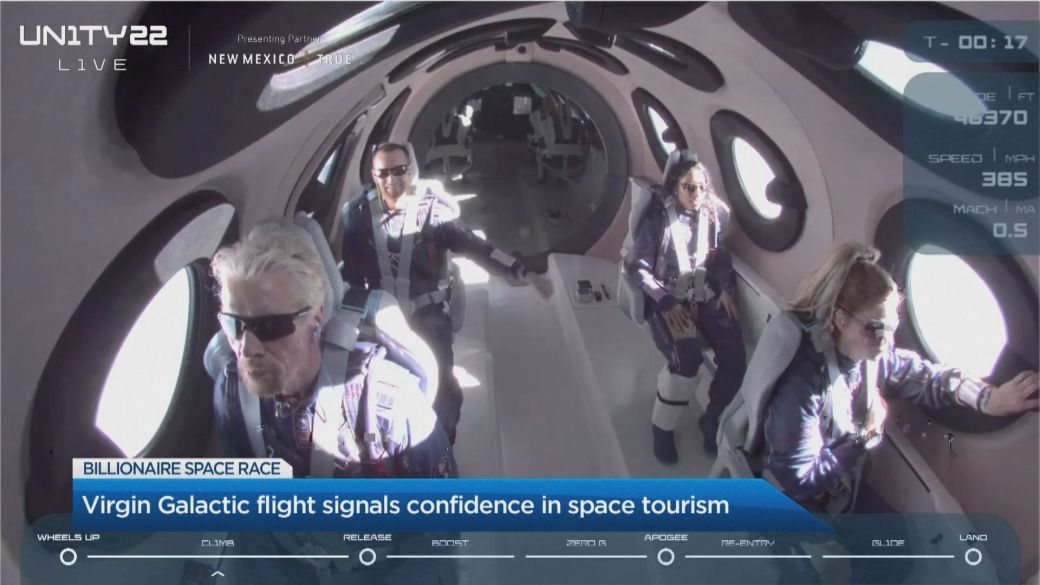 Click to play video: 'What the billionaire space-race could mean for the future of commercial space travel'