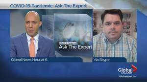 Infectious disease expert highlights why Alberta's COVID-19 infection rate is stabilizing