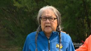 Jenny Spyglass on her experience at Delmas residential school (00:26)