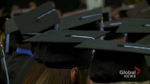 Coronavirus: Calgary school boards cancel traditional grad for 2nd year (01:42)