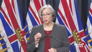 B.C. education minister announces new mask rule in schools (03:59)