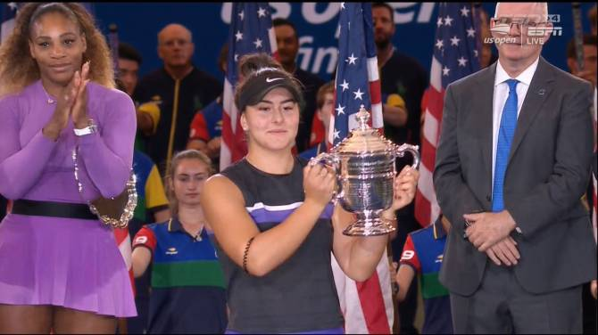 Rick Zamperin: Bianca Andreescu, a force for years to come