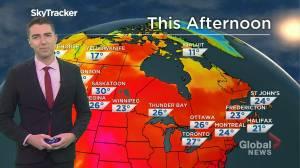 Saskatchewan weather outlook: July 23