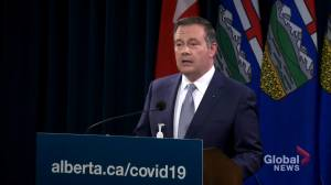 Alberta has seen 'encouraging surge' in COVID-19 vaccine uptake since $100  incentive launched: Kenney (01:23)
