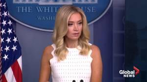 "White House Press Secretary calls Supreme Court decision on Trump taxes ""a win"" for president"