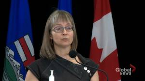 Alberta records 18 additional deaths from COVID-19 on Tuesday (01:02)
