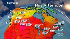 Winnipeg weather outlook: July 16 (02:01)