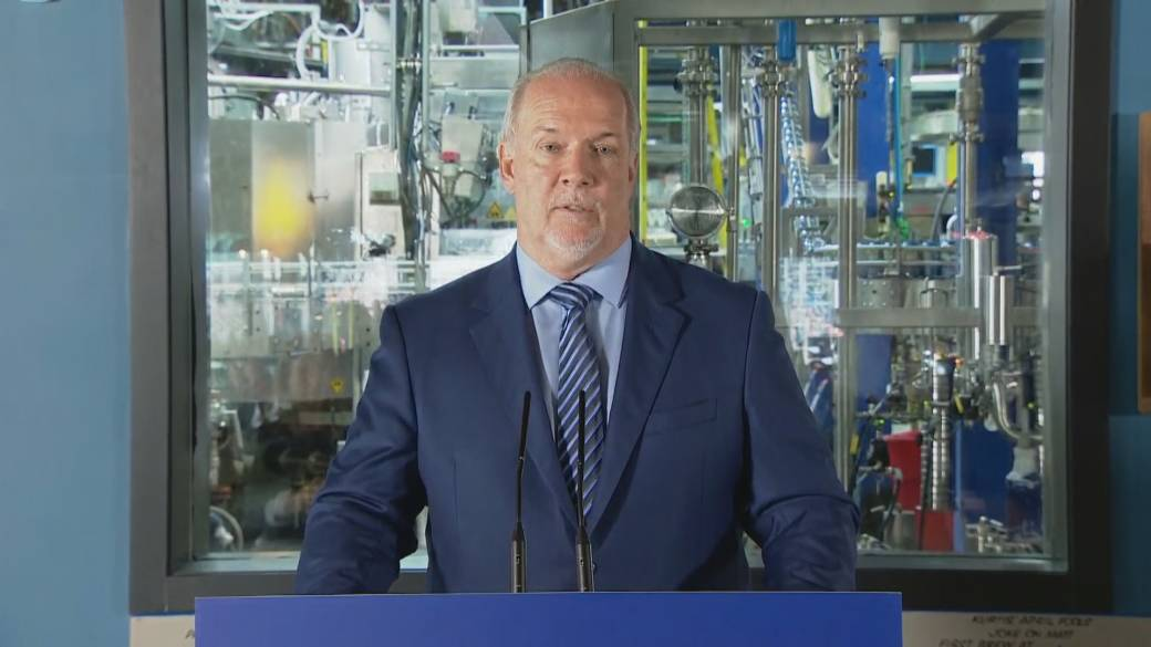 Click to play video 'BC NDP unveils pandemic economic recovery plan'