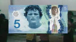 Could Terry Fox be the next face of Canada's five-dollar bill? (02:12)