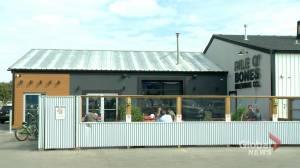 "Regina brewery kicks out two ""racist"" patrons seen destroying residential school memorial (01:58)"