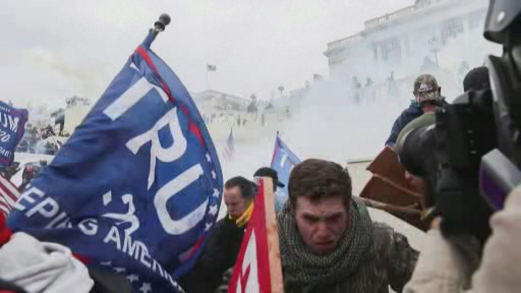 Click to play video: 'Democrats vow investigation into U.S. Capitol attack'